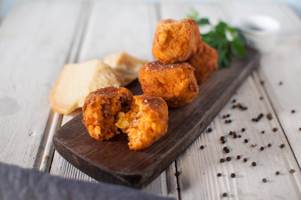 Arancino, arancina królowa sycylijskiego streetfoodu